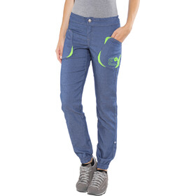 E9 Deni Pantalones Mujer, blue denim